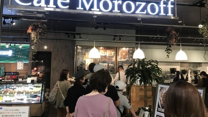 カフェモロゾフ神戸ハーバーランドUmie店の店外の雰囲気