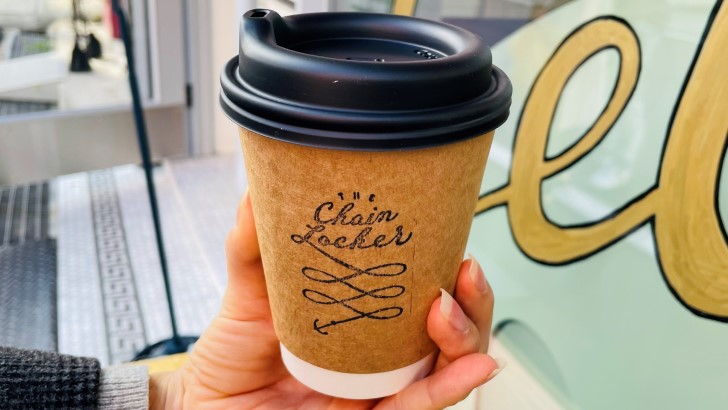 THE Chain Locker Coffee & Gelato Standのアメリカンコーヒー