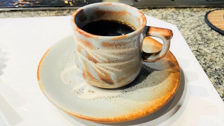 大井肉店本店レストランのコーヒー