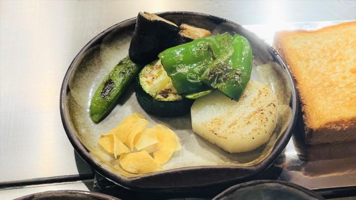 大井肉店本店レストランの焼き野菜