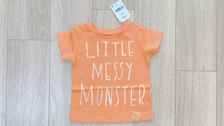 NEXTのLittle Messy Monster Tシャツ
