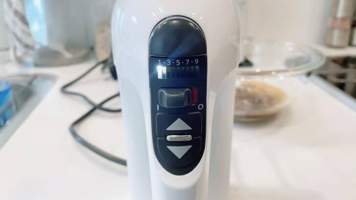 キッチンエイド/KitchenAidの9段階変速ハンドミキサーの使い方4