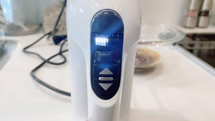 キッチンエイド/KitchenAidの9段階変速ハンドミキサーの使い方5